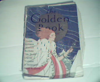 Golden Book-1/1927 D.H. Lawrence, Alfred Lord Tennyson!