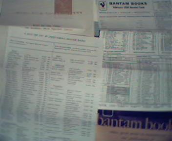 Bantam Books Order Memorbilia!
