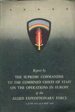 Operations in Europe Allieds Report 1945