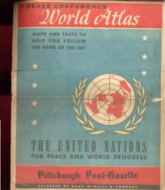 U N Peace conference world atlas 1947