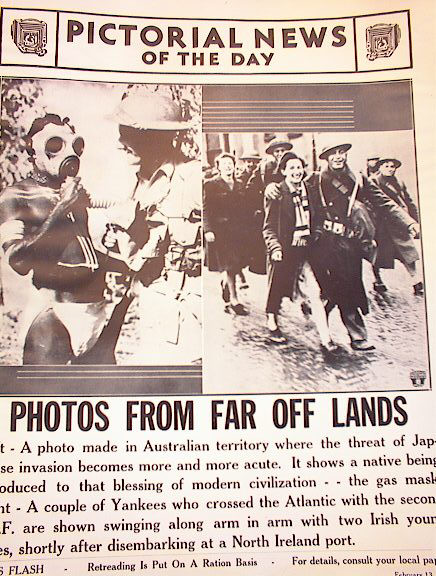 PHOTO FROM THE FAR OFF LANDS FEB 13,1942