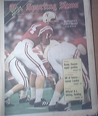 The Sporting News 1/1/1972 Nebraska's Jerry Tagge Cover