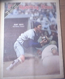 The Sporting News 6/12/1971 Great Jerry Grote Cover