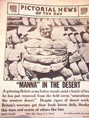 MANNA IN THE DESERT PHOTO SEPT 0,1941