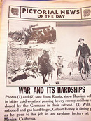PHOTOS OF WAR AND IT'S HARDSHIPS  3-13-1942
