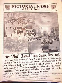 HOW'ALERT'CHANGED TIMES SQUARE,NEW YORK PHOTO