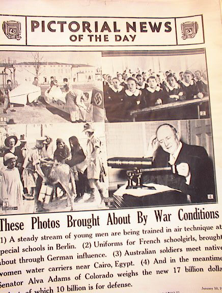 PHOTOS BROUGHT ABOUT BY WAR CONDITIONS