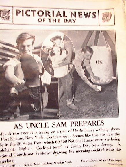 AS UNCLE SAM PREPARES  OCTOBER 23,1940