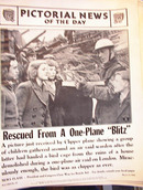 RESCUED FROM A ONE-PLANE'BLITZ' MARCH 12,1942