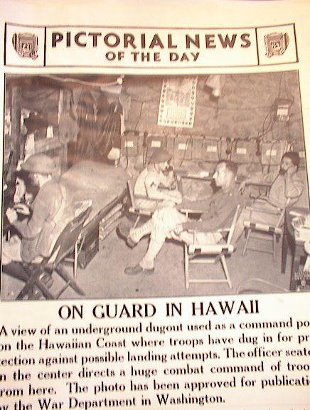 ON GAURD IN HAWAII PHOTO UNDERGROUND POST