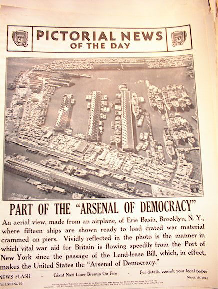 PART OF THE ARSENAL OF DEMOCRACY 3-19-1941