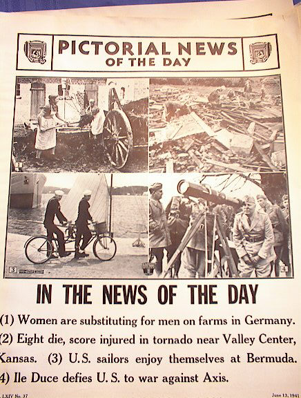 WOMEN SUBSTITUTING FOR MEN IN FARMS  GERMANY