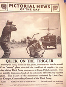 QUICK ON THE TRIGGER   PHOTO AUGUST 29,1941