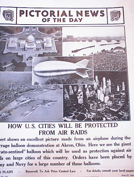 HOW U.S. CITIES WILL BE PROTECTED BY AIR RAID