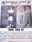 PHOTOS OF WOMEN DOING THEIR BIT 4-25-1941