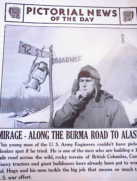 PHOTO OF U.S.ARMY ENGINEER IN BURMA 4-3-1942