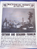 GOTHAM AND BENJAMIN FRANKLIN PHOTO 1941