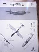 1944 'HOTSPUR II' R.A.F. U.K. GLIDER   RARE