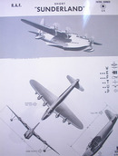 SHORT 'SUNDERLAND' U.K. PATROL BOMBER.  RARE