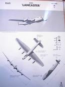 AVRO 'LANCASTER' U.K. HEAVY BOMBER.  RARE