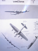 AVRO 'LANCASTER' U.K. HEAVY BOMBER.1942 RARE