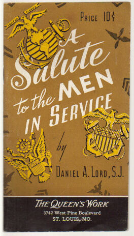 A Salute to the Men in Service )1942 booklet