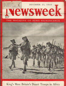 British Troops in Africa Newsweek Dec 23 1940