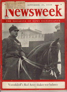 Newsweek Sept 25 1939 Voroshiloffs Red Army