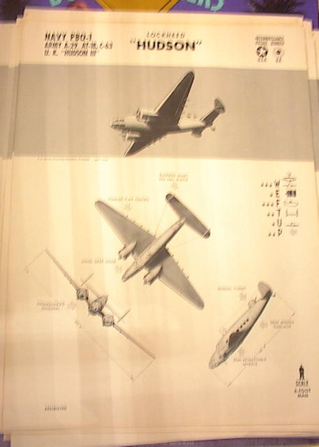 1942TRAING POSTER OF'NAVY PBO-1'RECONN BOMBER