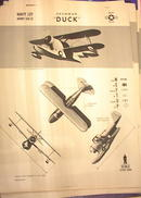 1942 TRAING POSTER OF'NAVY J2F'UTILITY PLANE