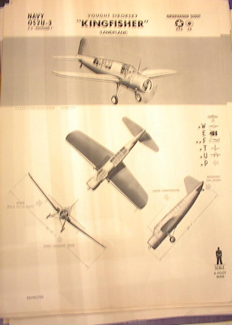 1942TRAING POSTER OF'0S2U-3'OBSERVATION SCOUT