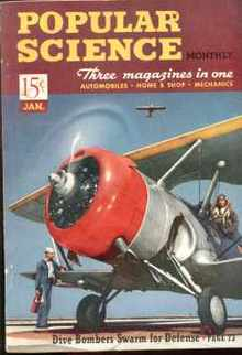 Popular Science 1/1941 WWII Dive Bombers