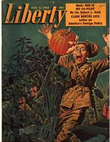 Liberty 11/6/43 Holloween WWII; Claire B Luce
