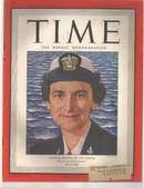 TIME 3/12/1945 WAVE Captain McAfee; Coke Ad!