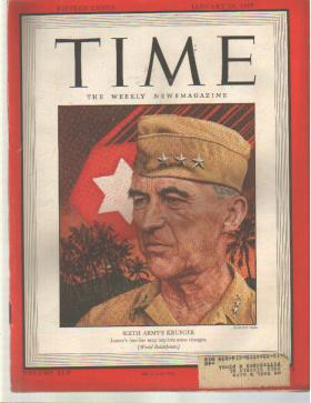 TIME 1/29/1945 General Krueger 6th Army