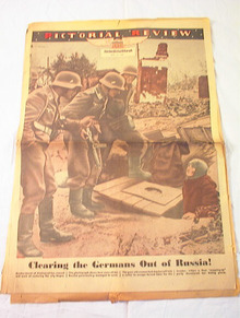 MAY 9,1943 PICTORIAL REVIEW  NICE COVER PAGE