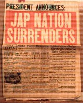 Seattle Post 8/15/1945 Japan Surrenders
