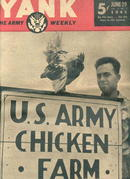 Yank,The Army Weekly/June 29'45/Chicken Farms
