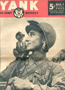 Yank,The Army Weekly/Mar.9'45/Bridge Bombing