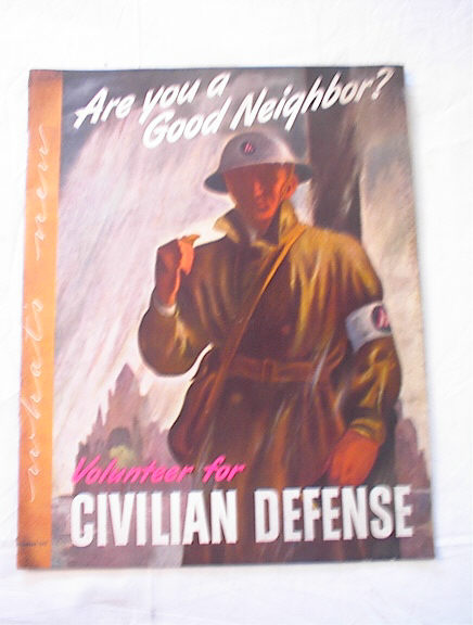 December,1943 Civilian Defens magazine