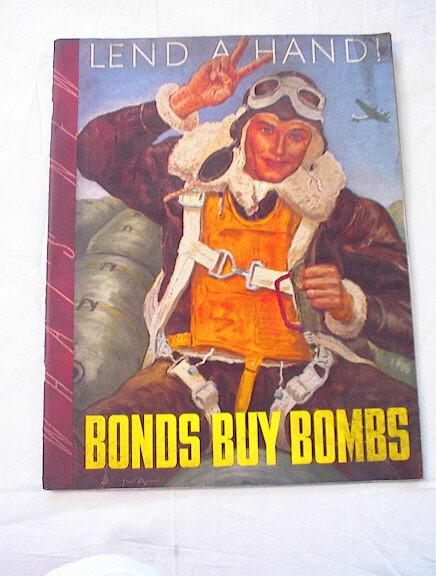 January,1943 Bonds Buy Bombs magazine