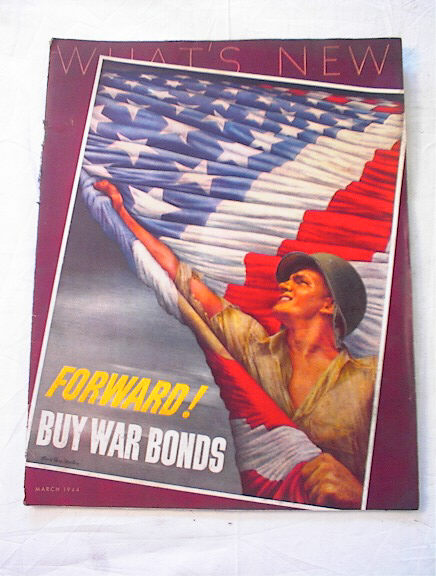 March,1944 What's News Buy War Bonds