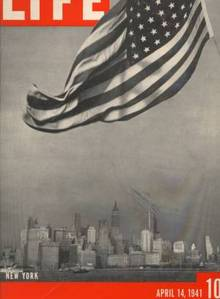 LIFE 4/14/41 NEW YORK SKYLINE COVER - L@@K !!