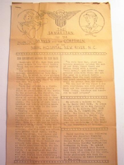 The Samaritan 10/23/1943 Vol.1 No.18
