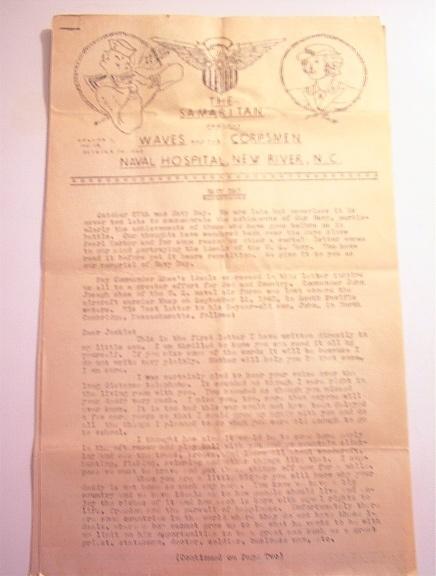 The Samaritan 10/30/1943 Vol.1 No.19