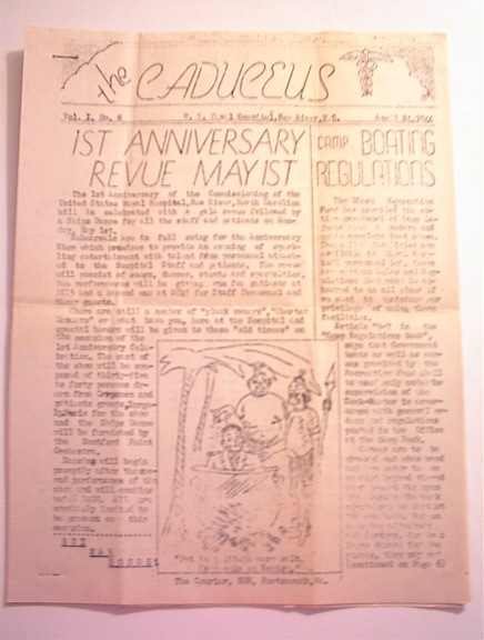 The CADUCEUS,4/24/1944,Vol.I No.8.