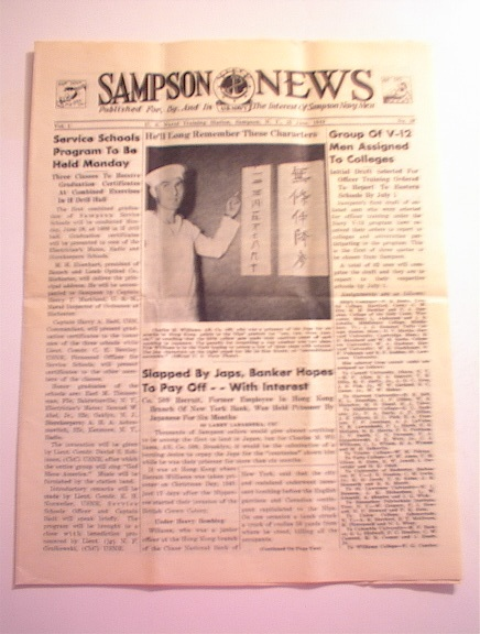 SAMPSON U.S. Navy News,6/25/1943,Vol.1 No.29