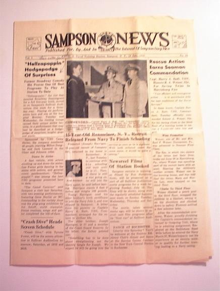 SAMPSON U.S. Navy News,7/16/1943,Vol.1 No.32.