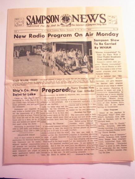 SAMPSON U.S. Navy News,7/23/1943,Vol.1 No.33.