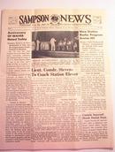 SAMPSON U.S. Navy News,7/30/1943,Vol.1 No.34.